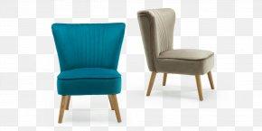 Chair - Aqua Chair Living Room Furniture Velvet PNG
