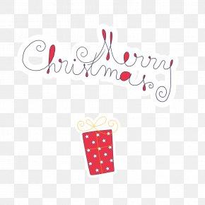 WordArt Vector Christmas - Christmas Gift Font PNG