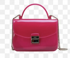 FURLA / Ms. Fulla CANDY PVC Mini Messenger Bag - Handbag MINI Cooper Polyvinyl Chloride Leather PNG