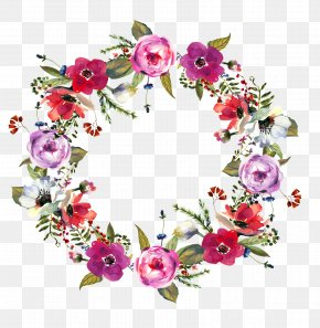 Floral Wreath - Flower Ring Stock Photography Clip Art PNG