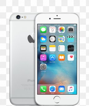 Apple 6 - IPhone 6s Plus Apple Telephone Silver PNG