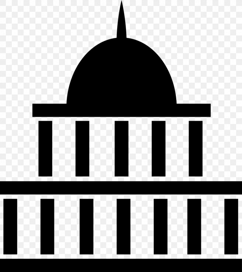 White House United States Capitol Federal Government Of The United States Clip Art, PNG, 872x980px, White House, Apartment, Black, Black And White, Brand Download Free