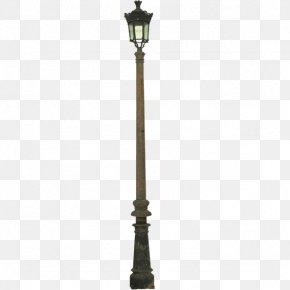 British High Street Light Pole - United Kingdom Street Light Icon PNG