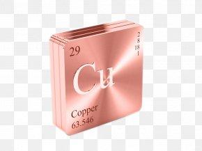 Copper Symbol - Ruthenium Precious Metal Platinum Group Periodic Table PNG