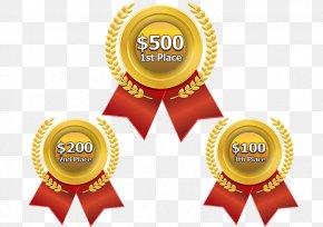Cash Prize - Gold Medal Olympic Medal Clip Art PNG