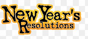 New Year's Resolution - New Year's Resolution New Year's Eve New Year's Day Clip Art PNG