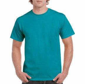 Polo Shirt - T-shirt Crew Neck Gildan Activewear Green Navy Blue PNG