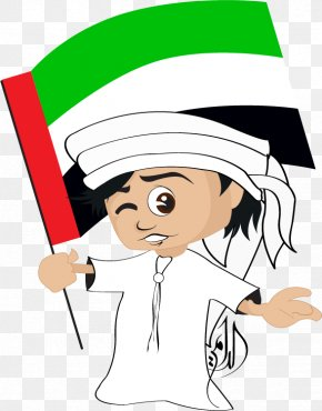 National Day Decoration - Flag Of The United Arab Emirates National Day Clip Art PNG