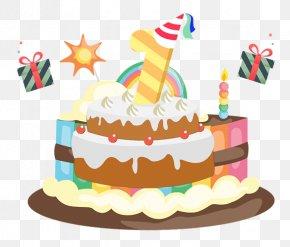 Birthday Cake - Birthday Cake Cupcake Ice Cream Cake Clip Art PNG