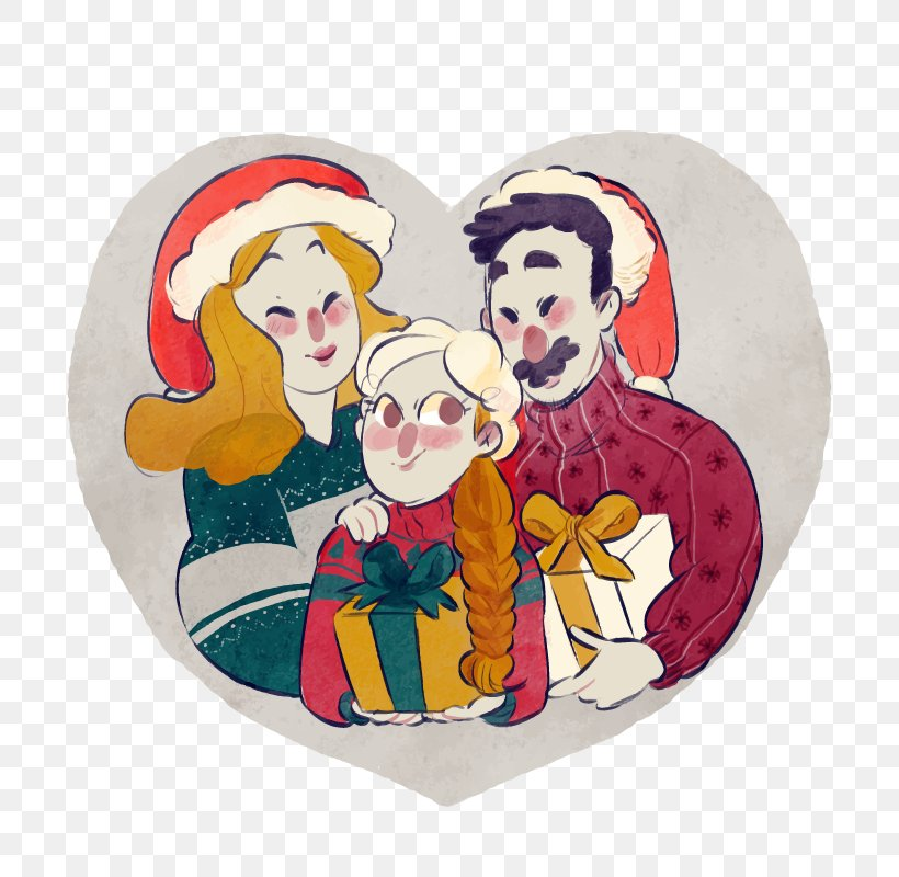 Family Cartoon Illustration Png 800x800px Family Art Cartoon Christmas Daughter Download Free