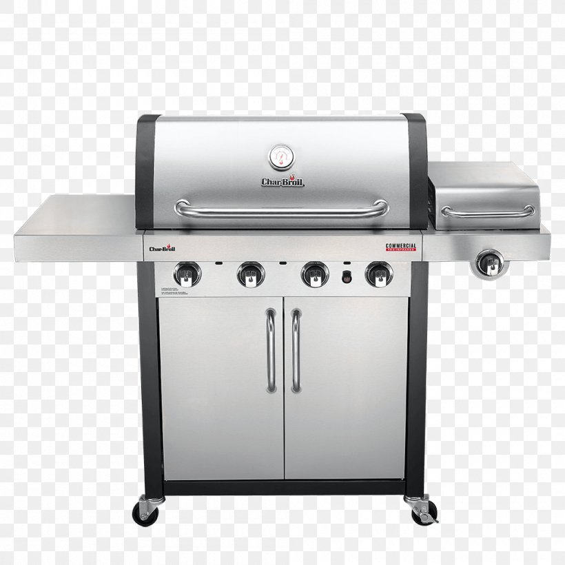 Barbecue Char-Broil TRU-Infrared 463633316 Grilling Char-Broil Performance 4 Burner Gas Grill, PNG, 1000x1000px, Barbecue, Brenner, Charbroil, Charbroil 3 Burner Gas Grill, Charbroil Gas Grill Download Free