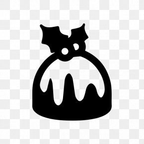 Christmas Pudding - Christmas Whiskers Icon Design Clip Art PNG