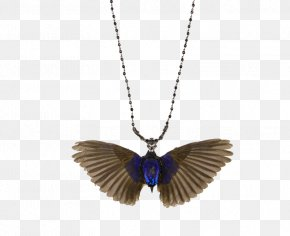 Wings Necklace - Earring Necklace Jewellery Gold Mangala Sutra PNG
