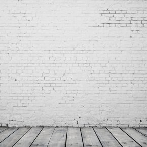 Physical White Brick Wall Background - Stone Wall Brick Floor PNG