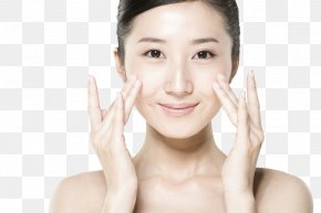 Skincare Model - Skin Care Cleanser Exfoliation Complexion PNG