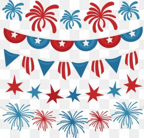 Free Fourth Of July Pictures - Independence Day Banner Clip Art PNG