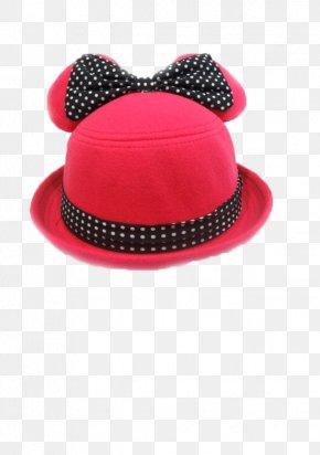 Red Hat - Sun Hat Crochet Knitting Cap PNG