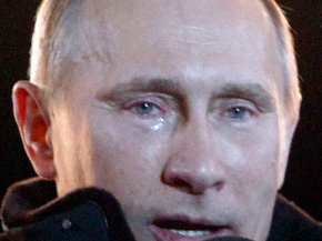 Vladimir Putin - Vladimir Putin President Of Russia Crying Politician PNG