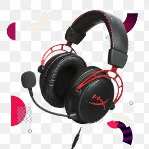 Headphones - Headphones Headset Kingston HyperX Cloud Alpha Kingston HyperX Cloud II PNG