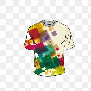 Men's T-shirt - T-shirt Template Sleeve PNG