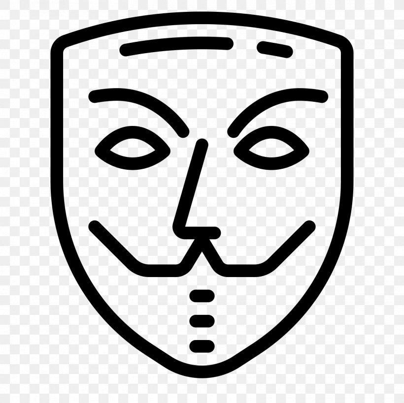 Anonymous Mask Anonymity, PNG, 1600x1600px, Anonymous, Anonymity, Avatar, Black And White, Emotion Download Free