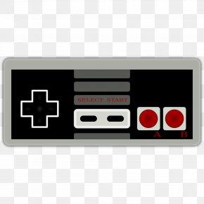 Nintendo Cliparts - Super Mario Bros. Super Nintendo Entertainment System Wii Game Controller PNG
