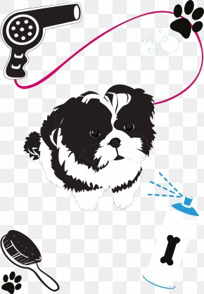 Pet Dog - Dog Grooming Puppy Beauty Parlour PNG
