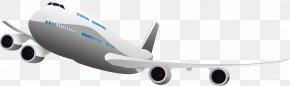 White Gray Airplane - Airplane Flight Internet PNG