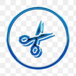 Logo Electric Blue - Cut Icon Cutting Icon Diy Icon PNG
