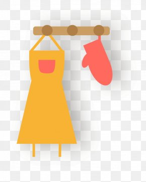 Aprons, Oven Mitts - Oven Glove Apron PNG