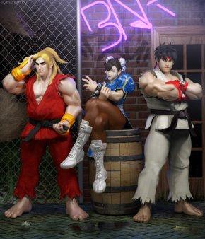 Street Fighter - Street Fighter V Ryu Ken Masters Chun-Li Sagat PNG