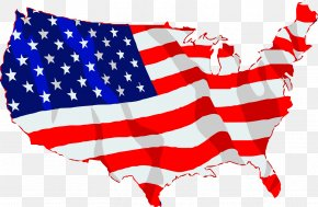 America - Flag Of The United States State Flag Clip Art PNG