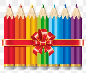 School Pencils Picture - School Supplies Stock Illustration PNG