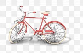 Hand-painted Bicycle - Bicycle Wheel Bicycle Saddle Road Bicycle Bicycle Frame Hybrid Bicycle PNG