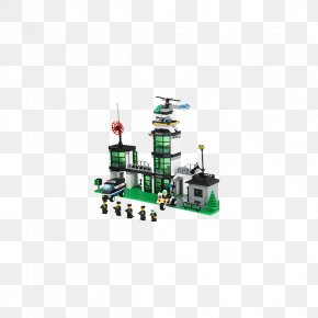 Toy - Toy Block Lego Minifigure Police Station PNG
