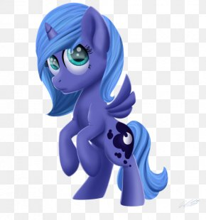 Mlp Princess Luna Cutie Mark - Pony Princess Luna Princess Celestia Horse Figurine PNG