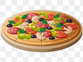 Pizza On The Plate - Pizza Hut Clip Art PNG