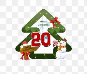 Christmas Tree Tags - Christmas Decoration Christmas Tree Snowman PNG