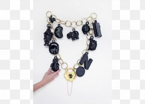 Necklace - Necklace Earring Bead Bracelet Onyx PNG