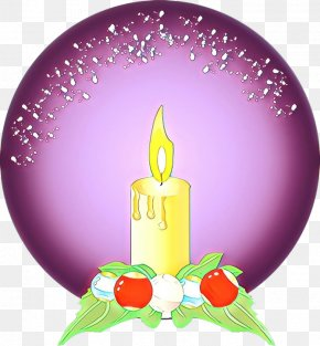 Birthday Candle Magenta - Birthday Candle PNG