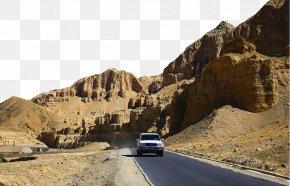 Western Tibet Ali Fam - Road Trip Mode Of Transport Rock Sand PNG