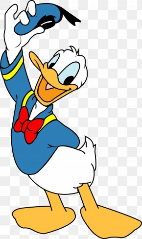Donald Duck - 12410 Donald Duck Mickey Mouse Daisy Duck Clip Art PNG