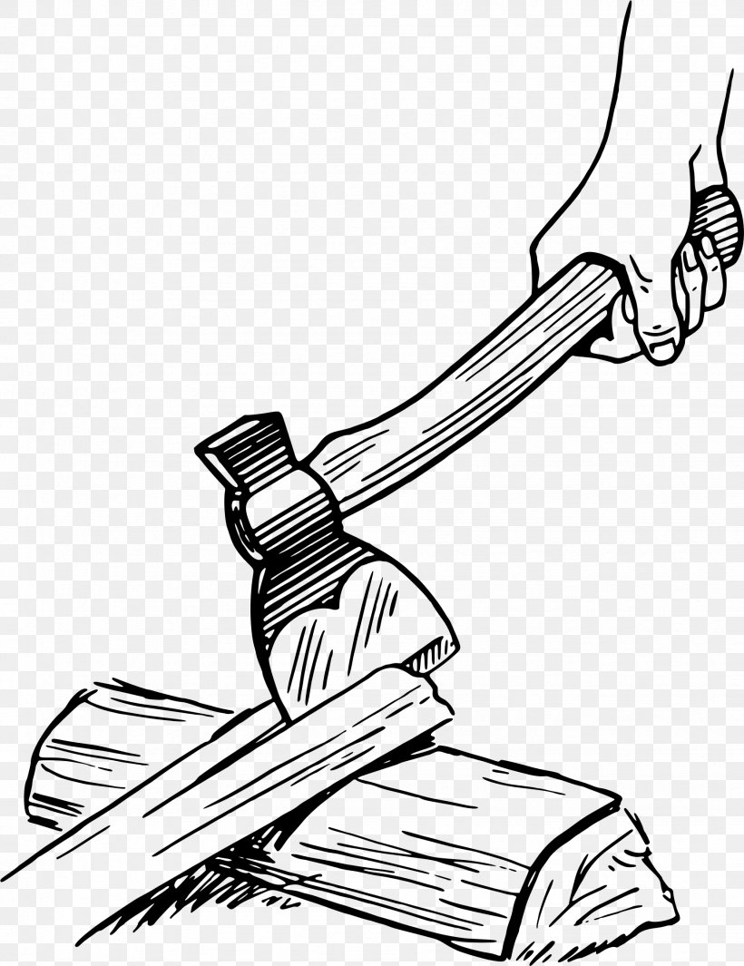 Axe Hatchet Drawing Clip Art, PNG, 1842x2394px, Axe, Area, Arm, Art, Artwork Download Free