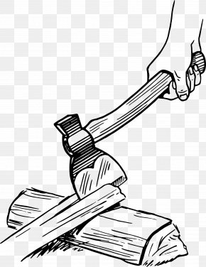 Axe - Axe Hatchet Drawing Clip Art PNG