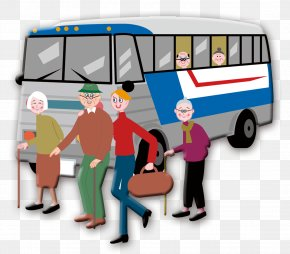 Honor Their Parents To Help The Elderly Animation Cartoon Material - Old Age Comics Illustration PNG