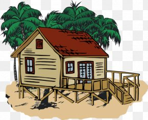 Beach Homes Cliparts - Beach House Cottage Clip Art PNG