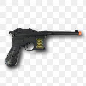 Weapon - Trigger Airsoft Guns Firearm Mauser C96 PNG