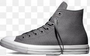 Nike - Chuck Taylor All-Stars Converse CT II Hi Black/ White Plimsoll Shoe High-top PNG