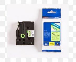 Hsm51 - Adhesive Tape Brother TZe 335 Brother TZe Laminiertes Band Karten, Etiketten Und Sticker Thermal Transfer Medien Label Printer Office Supplies PNG