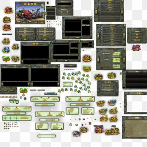 A Tower Defense Game Elements - Button Game Graphical User Interface Download PNG